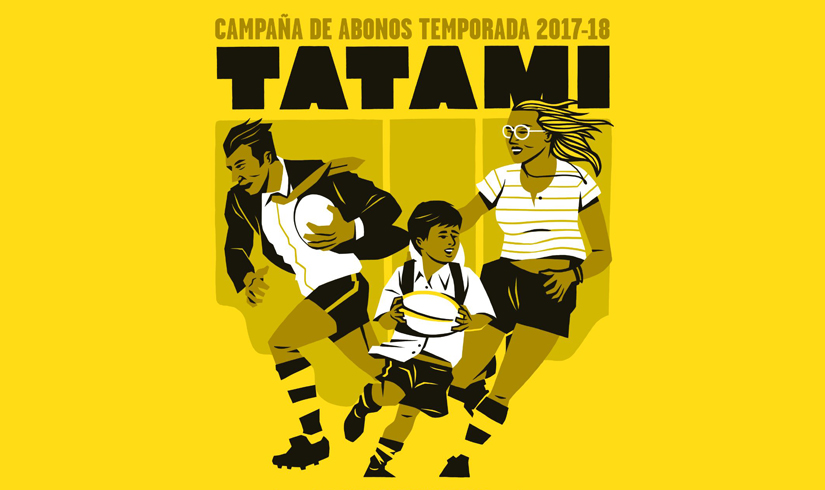 campaña de socios 2017-18, campaña socios tatami, campaña de socios andemen tatami rugby club,