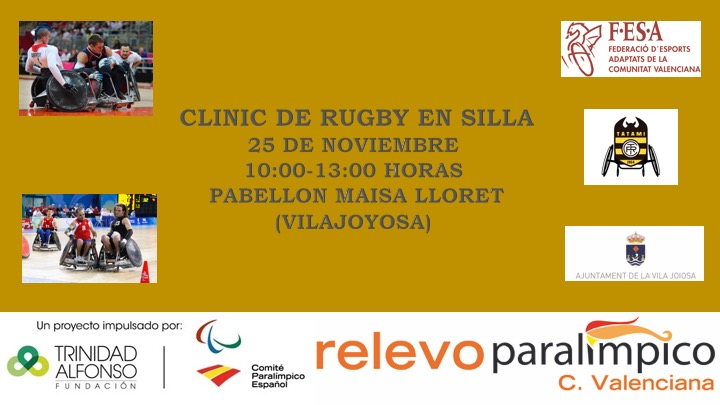 CLINIC RUGBY EN SILLA DE RUEDAS