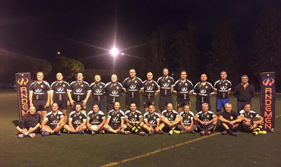 Veteranos, qué sí, que el rugby es eterno....!