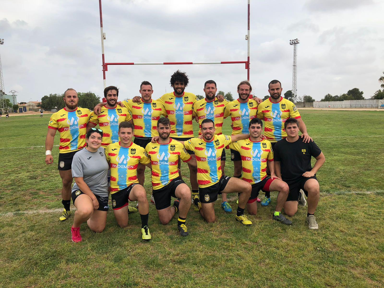 Andemen Tatami Rugby Club campeón del campeonato de rugby 7s de la Comunidad Valenciana