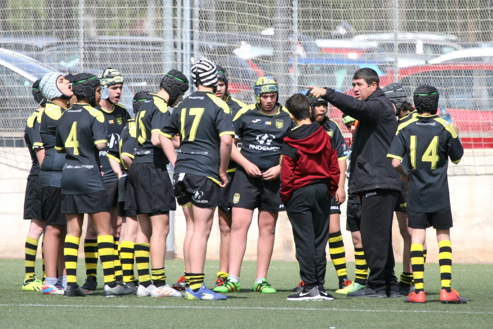 torneo nacional Oliva - tatami rugby