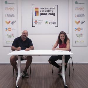 María Ribera y Miguel Pérez